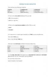 comparatives and superlatives explanation pdf