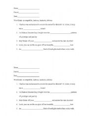 Printables Sat Vocabulary Worksheets english worksheets sat prep vocabulary 2 worksheet 2
