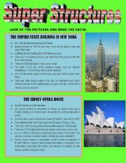 English Worksheets: SUPER STRUCTURES !!!