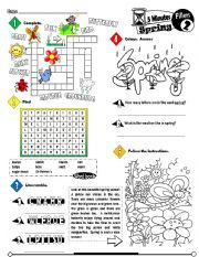 English Worksheets: Five Minutes Fillers Series_02 Spring (Fully Editable + Key)