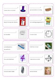 English Worksheets: Creating Questions Activity Cards Part 1 (who, what)
