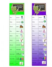 English Worksheets: Question Words Bookmarks