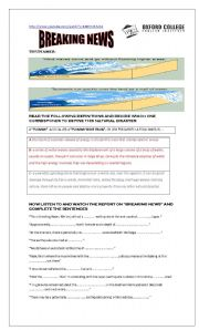 Conditionals 1,2,3 vs.Tsunamis with KEY worksheet - Free ESL ...