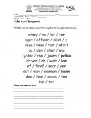 English Worksheets: Building words
