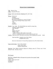 English Worksheets: Modified MC Study Guide