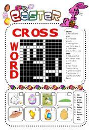 English Worksheet: Easter worksheet
