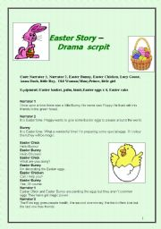 Easter story- drama script for children