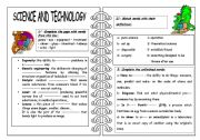 science and technology worksheet by fatta. Black Bedroom Furniture Sets. Home Design Ideas