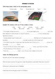 English Worksheets: WEMBLEY STADIUM