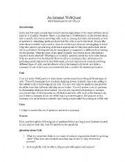 English Worksheet: Genetics