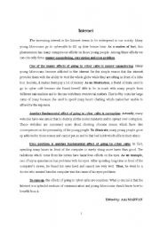 Topics For Essays In English  Essay On High School Experience also Persuasive Essay Examples For High School An Essay About The Internet   Esl Worksheet By Maruan Aziz Sample Essay Proposal