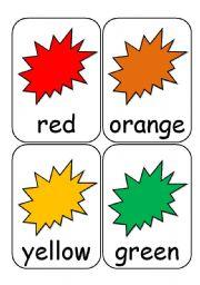 Colour Flashcards