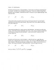 English Worksheets: Point - of - View Practice
