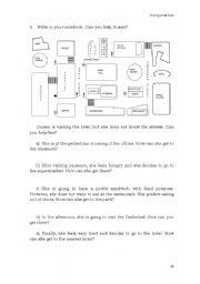 giving direction esl worksheet by mpr 88. Black Bedroom Furniture Sets. Home Design Ideas