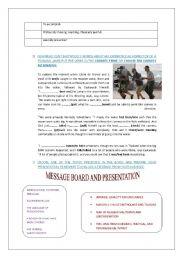 English Worksheet: HEREAFTER-TSUNAMI SCENE-PART 2