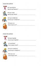 English Worksheets: Yes, I have/No, I haven�t