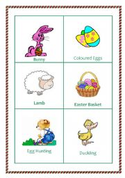 Easter picture  cards set of 12