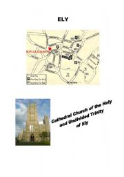 English Worksheets: Ely Cathedral -  a worksheet