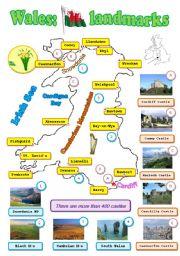 Wales: landmarks