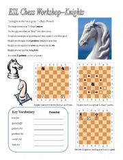 Rockford chess worksheets