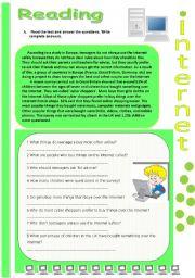 Reading: Internet ( 1 )
