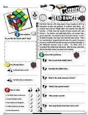 English Worksheets: RC Series Level 01_42 Head Banger (Fully Editable + Key)