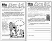 English Worksheet: About soil -science for kids