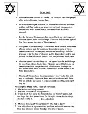 English Worksheets: Covenant