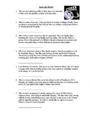 English Worksheets: Guess the movie