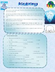 English Worksheets: Iceberg