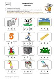5 letter words ending in ax i my phonics ending sounds 4 12 esl worksheet by 26014 | thumb105011050523928