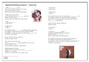 English Worksheets: Songs Green Day & One Republic