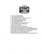 English Worksheets: The Circuit Unit Under The Wire