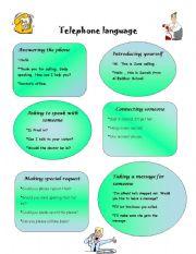 Telepone language