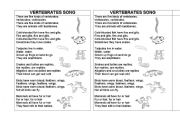vertebrates song