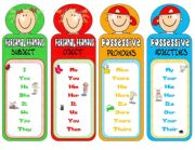 PRONOUNS-bookmarks 2
