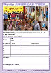 English Worksheets: MOVIE: AMERICAN TEEN (2008)