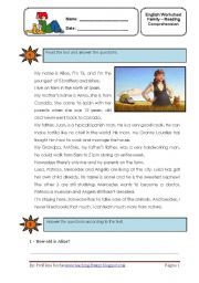 English Worksheets: Alice the Farmer