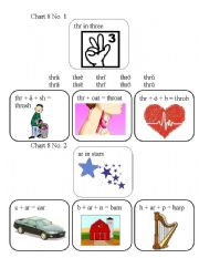 English Worksheets: SPECIAL SOUNDS : CHART 8 No. 1