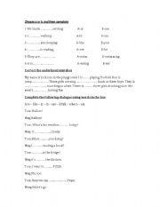English Worksheets: grammer exercises