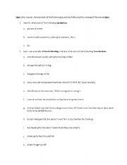 English Worksheets: Signs (the movie)
