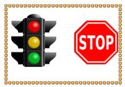 English Worksheet: traffic signs 1