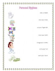 Printables Personal Hygiene Worksheets Kids english teaching worksheets personal hygiene hygiene