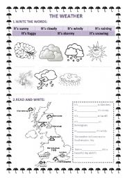 worksheets weather map worksheet opossumsoft worksheets and printables. Black Bedroom Furniture Sets. Home Design Ideas