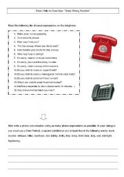 English Worksheets: phone_switchboard activity
