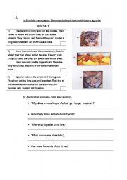 English Worksheets: BIG CATS