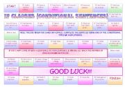 English Worksheet: Conditionals Game