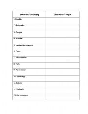 english teaching worksheets inventions. Black Bedroom Furniture Sets. Home Design Ideas