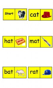 English Worksheets: Dominos