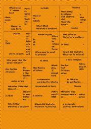 English Worksheet: puzzle Malcolm X